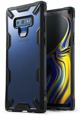 For Galaxy Note 9 | Ringke® [FUSION-X] Tough Bumper Clear Back Armor Case Cover