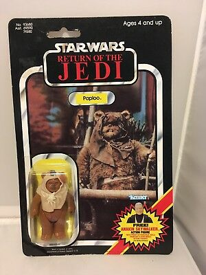 STAR WARS Return of the JEDI, Paploo action figure 1984 No. 96380