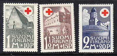 Finland Red Cross 1931 Complete set Mint