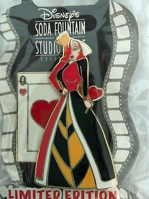 Disney Pin Jessica Rabbit as Queen of Hearts DSSH Limited Edition LE