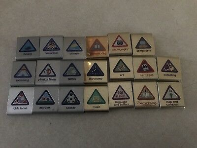 LOT of 20 cub scout belt loops Achievements
