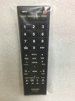 new genuine Toshiba TV Remote Control CT-90325 32C100U2 32C100UM 32C110U 32DT1