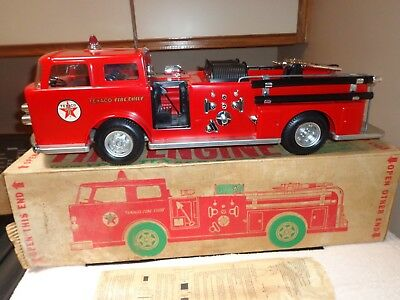 Vintage TEXACO FIre Truck... New..... Never Played With