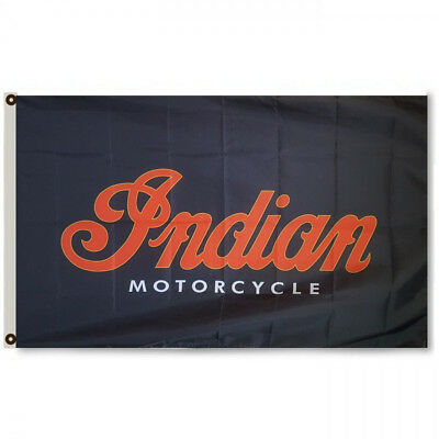 Indian Motorcycles Flag Wall Decor Banner 3x5Feet Garage Cheiftain Roadster
