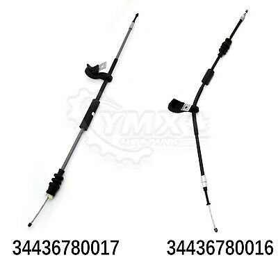 x2 Pcs New Parking Brake Cable For BMW E65 745 750 760 Alpina E66 02-08 LH + RH