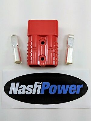 175 Amp Battery Connector Fits Anderson SB175 Red 1/0 AWG