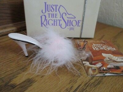 JUST THE RIGHT SHOE by Raine Willitts Designs Pink VA-VA VOOM 1999