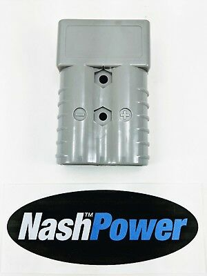 350 Amp Battery Connector Housing Fits Anderson SB350 Gray