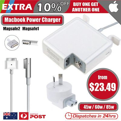 MacBook Apple Power Charger Adapter Magsafe1 2 45W 60W 85W for Pro 13 15 17""