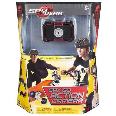 Spy Gear Spy Go Action Camera Clip-On Portable Surveillance Spin Master Toy CHOP