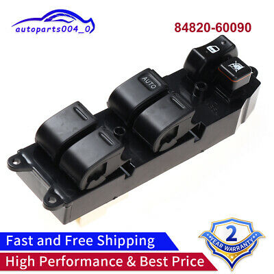 Power Window Master Control Switch Fits Toyota 4Runner Camry Echo 84820-60090