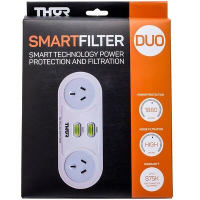 THOR C2 Smart Duo 2 Way Surge Protection & Filtration