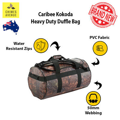 Caribee 65L Duffle Bag | AUTHENTIC | Waterproof Removable Padded Shoulder Straps