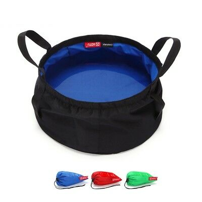 8.5L Folding Bucket Trip Washbasin Collapsible Water Pot Camping Sport Goods 1PC