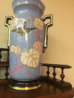 Porcelain, French, antique decorative vase