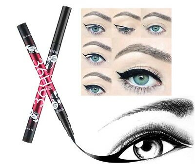 36 Hour Precision Eye Liner Liquid Eyeliner Waterproof Fine Tip Black Gel Pen