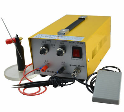 110V Pulse Sparkle Spot Welder Gold Silver Platinum Jewelry Welding Machine 200W