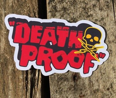 Death Proof Stickers, Fanart.COMBINE POSTAGE ON ALL STICKERS