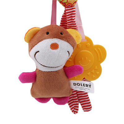 Baby Rattle Toy Kids Stroller Hanging Handbells Appease Music Toys LH