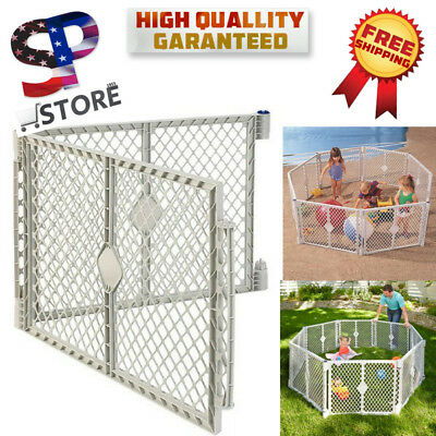 North States SuperYard XT EXTENSION KIT Safety Gate Baby Play Pen Pet Door  Set