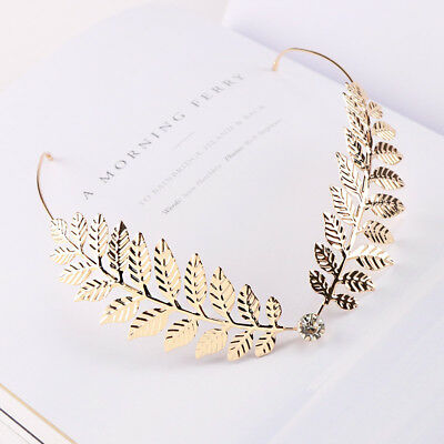 1PC New Arrival Fashion Headbands For Women Crystal Alloy Hairbands Back Ho A1N4