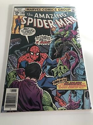 Marvel Comics The Amazing Spider-man 180 Bronze Age. Death Of The Green Goblin