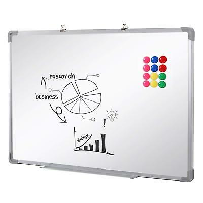 Extra Large 1200X900 Magnetic Whiteboard Dry Wipe Office Meeting School Home Uk