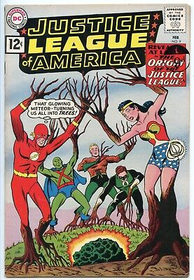 Justice League of America #9  F/VF 7.5
