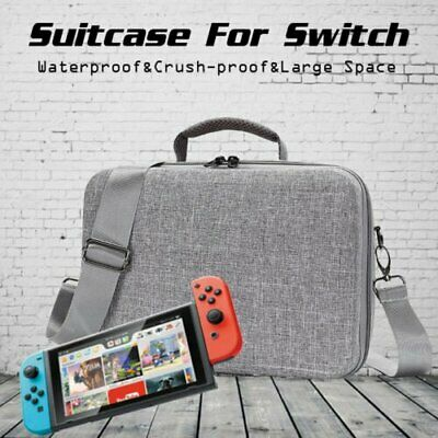 Nintendo Switch Hard Shell Carrying Shoulder Slling Bag Suitcase Travel Case