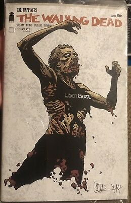NEW The Walking Dead Comic Book from Loot Crate #132: Happiness 👀 👍🏼 🔥 😲