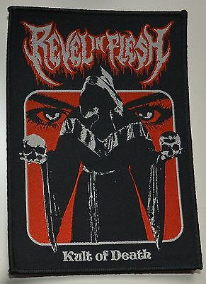 REVEL IN FLESH - Kult Of Death - Patch 14 cm x 10 cm - 163628