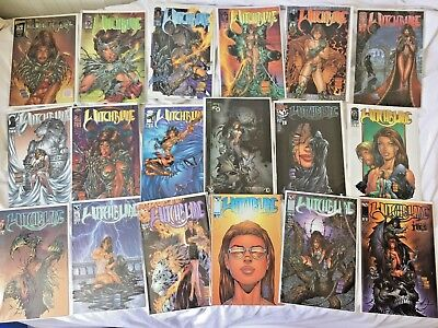 WITCHBLADE #1-43 + DARKNESS #9-10 + Xovers - Top Cow Job Lot (1996) VF/NM