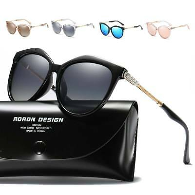 Luxury Women HD Polarized Oversized Sunglasses Designer UV400 Driving Travel AU