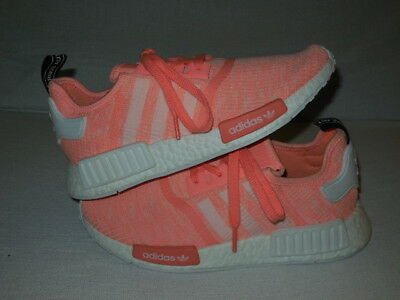 purchase cheap 28b86 295b9 Adidas BY3034 NMD R1 Sun Glow Footwear White Haze Coral WO S Size 9 (