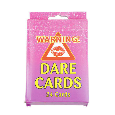 pack of 24 girls hen night out party dare card accessories wedding favours fun Y