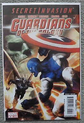 Guardians Of The Galaxy #6..Dan Abnett/Andy Lanning..marvel 2008 1St Print..vfn