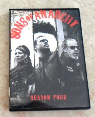 SONS OF ANARCHY season four (4) DVD FREE SHIPPING