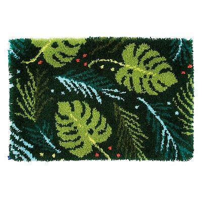 Vervaco - Latch Hook Rug Kit - Leaves - PN-0170834