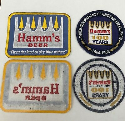 Hamm's Beer patches -two total, one price-SPECIAL ONE WEEK OFFER!!!