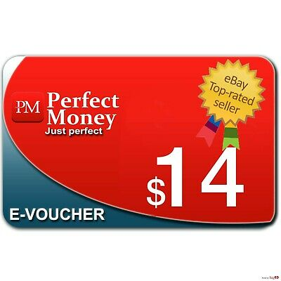 --> 14 $ Perfect Money e-Voucher / kod USD | POWER SELLER 1000+| PREMIUM SERVICE