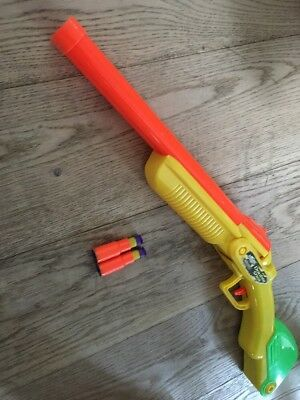 Nerf Like Buzz Bee Double Shot Air Blaster Gun with ammo