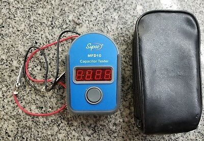 Supco MFD10 Capacitor Tester In Case a-x