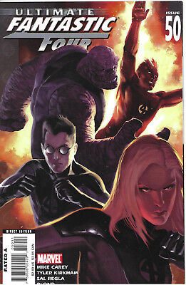 Ultimate Fantastic Four #50 - March 2008