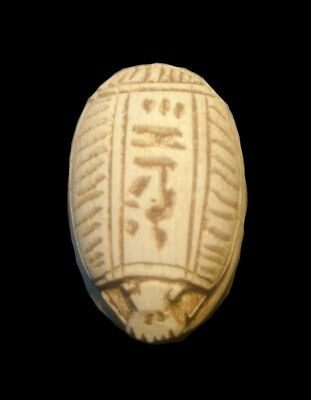 Replica Rare Antique Ancient Egyptian scarab 300 BC