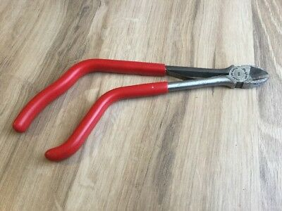 """Snap-On 812EP Pistol Grip 10"""" Diagonal Cutting Dikes Cutters ~ *RARE/Vintage*"""