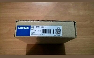 New OMRON GRT1-OD4-1 Output Unit 4 Outputs PNP 24VDC 0,5 A/P Smart Slice