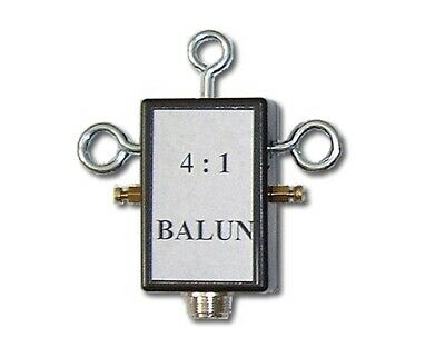 4:1 BALUN (500 WATTS ) FREQ 2-30MHz COMPLETLY WATER PROOF (S0239)