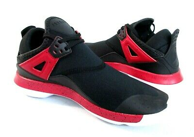 dc7400a55a042 NIKE Air Jordan Fly  89 BG AA4039-002 Blk Red White Youth Running Shoe