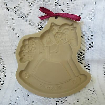 Brown Bag Cookie Art Mold~1993 Rocking Horse~New Condition
