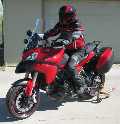 """Ducati Multistrada 1200  2013-Up 21"""" Tall, Clear Replacement Windshield"""